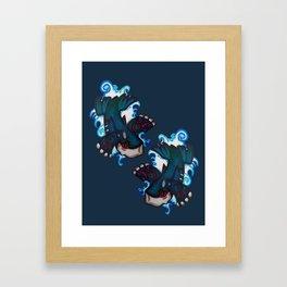 Kyogre (v2) Framed Art Print
