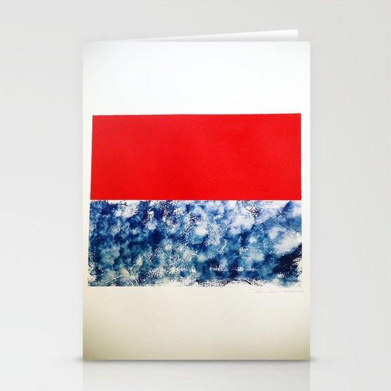 SKY/ORG Stationery Cards