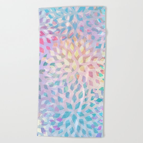 Summer Pattern #2 - color variation Beach Towel