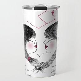 Amor enredado Travel Mug