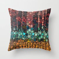 michigan Throw Pillows featuring :: Michigan Morning :: by :: GaleStorm Artworks ::
