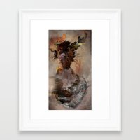 archan nair Framed Art Prints featuring Vrika by Archan Nair