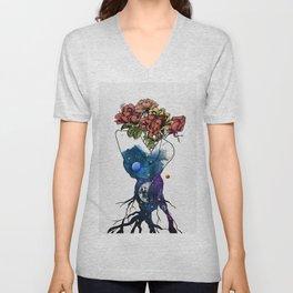 Roots of love. Unisex V-Neck
