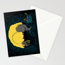 Fisher Fish Stationery Cards