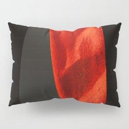 red shape Pillow Sham