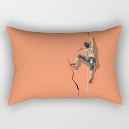 Climbing: Solitude Rectangular Pillow