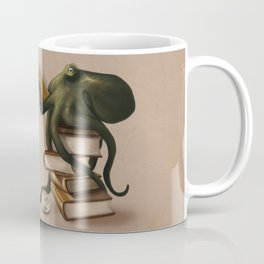 Well-Read Octopus Coffee Mug