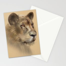Majestic Queen Stationery Cards