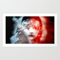 les miserables Art Prints featuring Les Miserables by Wandering Mel