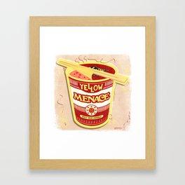 YM Noodles: Campbell's Framed Art Print