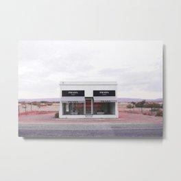 Roadside Attraction Metal Print
