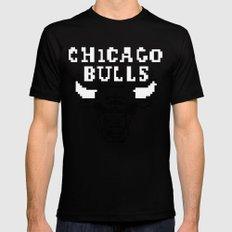 Bulls Bulls Bulls Mens Fitted Tee MEDIUM Black