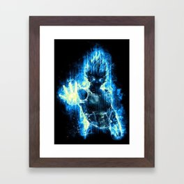 Vegeta Framed Art Print