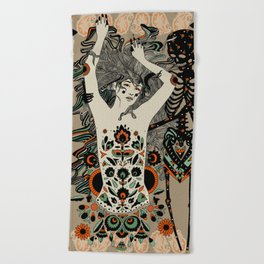 Child of the Earth Beach Towel
