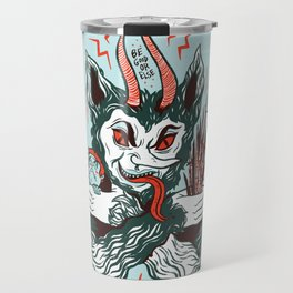 Merry Krampus! Travel Mug