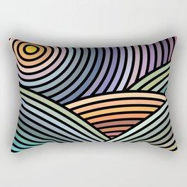 Hypnotic landscape Rectangular Pillow