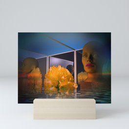surrealistic showcase Mini Art Print