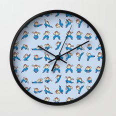 Yie Ar Kung-Fu Wall Clock