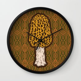 Morchella Wall Clock