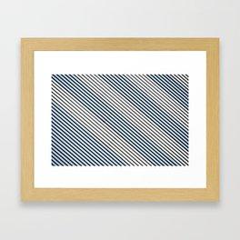 State of Mind: Feeling Tarheel Carolina Blue Framed Art Print