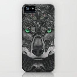 Lobo Verde iPhone Case