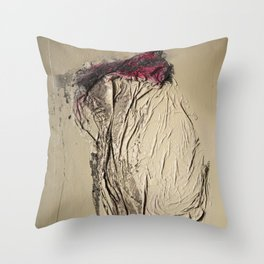 The Rose, Spray Painting on Canvas Throw Pillow