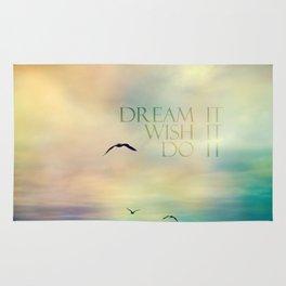 dream it wish it do it Rug