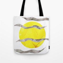 Howl At the Moon, Full Moon Ink Tote Bag