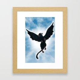 Trico Flying high Framed Art Print
