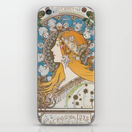HD- Alphonse Mucha - Zodiac / HIGH DEFINITION iPhone Skin