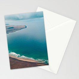 ocean coast las nieves canary islands spain Stationery Cards