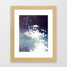 The Sparkly Loves Framed Art Print