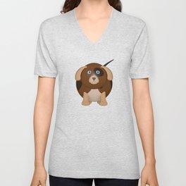 Beagle Dog Unisex V-Neck