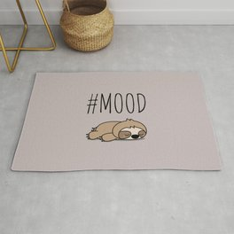 #MOOD - Sleepy Sloth Rug
