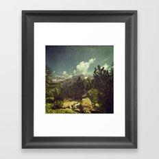Italian Mountains Framed Art Print