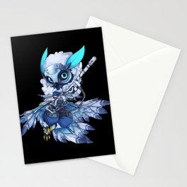 snow down Ana Stationery Cards