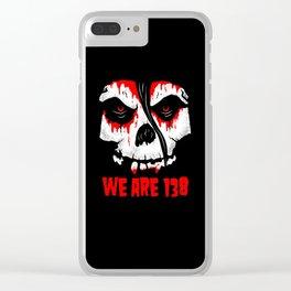 138 FIENDS Clear iPhone Case