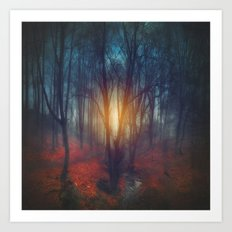 cRies and whiSpers Art Print