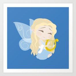 Musical Fairy Art Print