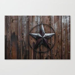 Texas Lone Star Canvas Print