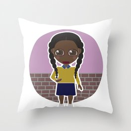 Chewing Gum Throw Pillow