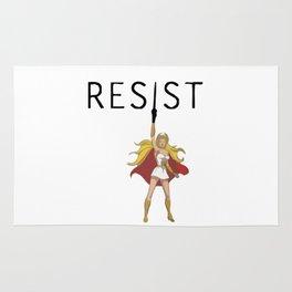 She-Ra says RESIST Rug