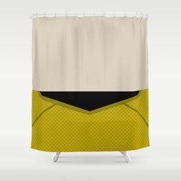 Sulu - Star Trek Reboot 2009 AOS - Trektangle - Trektangles - Hikaru Sulu - startrek Shower Curtain