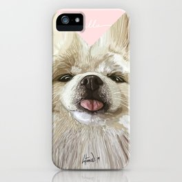 Pomerania Milla iPhone Case