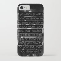 "zappa iPhone & iPod Cases featuring Frank Zappa - ""You Deserve It."" by Justine Linette Neveu"
