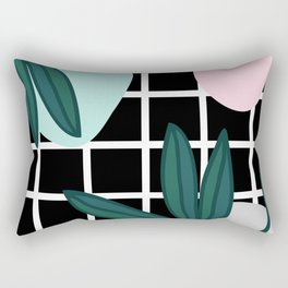 modern check Rectangular Pillow