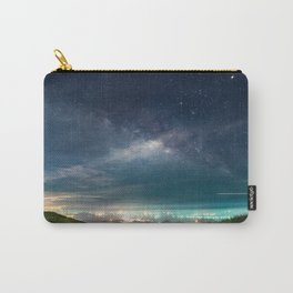 Milky Way over Hong Kong Lights Carry-All Pouch