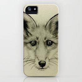 James the Fox iPhone Case