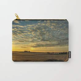Winter Roads And Sunrises Carry-All Pouch