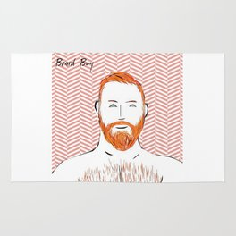 Beard Boy: Red Hot Richard Rug